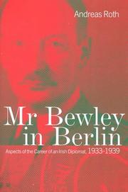 Cover of: Mr Bewley in Berlin