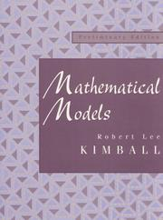 Cover of: Mathematical Models | Robert Lee Kimball