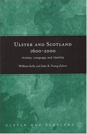 Cover of: Ulster and Scotland, 1600-2000 |