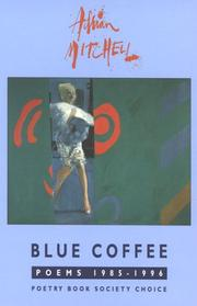 Cover of: Blue coffee: poems, 1985-1996