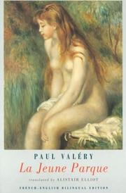 Cover of: La jeune Parque by Paul Valéry