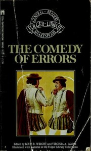 Cover of: The comedy of errors | William Shakespeare