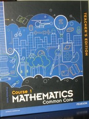 Cover of: Prentice Hall Mathematics Common Core, Course 1 Teacher Edition