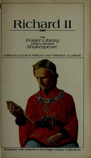 Cover of: Richard II | William Shakespeare