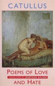 Cover of: Poems of love and hate