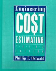 Cover of: Engineering cost estimating