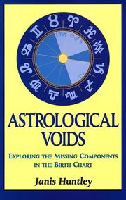 Cover of: Astrological Voids