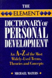 Cover of: The Element dictionary of personal development