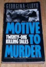 Cover of: Motive to Murder |