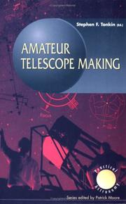 Cover of: Amateur telescope making |