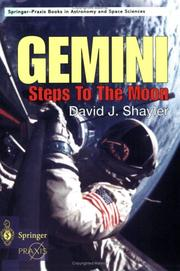 Cover of: Gemini Steps to the Moon | David J. Shayler