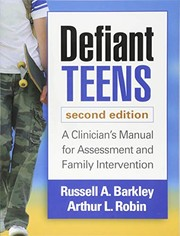 Cover of: Defiant Teens, Second Edition
