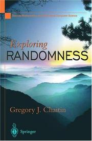 Cover of: Exploring randomness