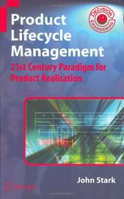 Cover of: Product Lifecycle Management | John Stark