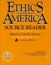Cover of: Ethics in America Source Reader