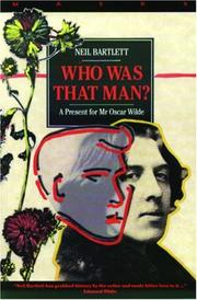 Cover of: Who was that man?