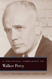Cover of: A Political Companion to Walker Percy