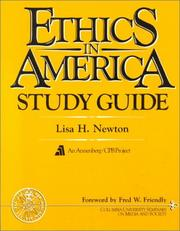 Cover of: Ethics in America study guide