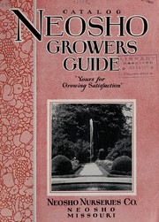 Cover of: Neosho grower