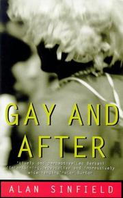 Cover of: Gay and After