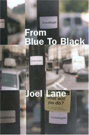 Cover of: From blue to black