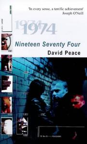 Cover of: Nineteen seventy-four: a novel