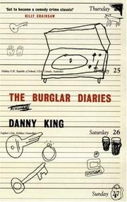 Cover of: The Burglar Diaries | Danny King