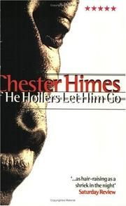 Cover of: If He Hollers Let Him Go (Five Star) | Chester B. Himes