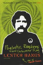 Cover of: Psychotic Reactions and Carburettor Dung (Five Star)