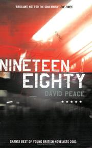 Cover of: Nineteen eighty: a novel