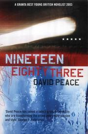 Cover of: Nineteen Eighty Three (Five Star)