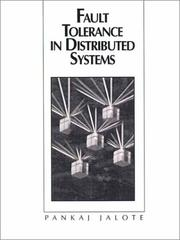 Cover of: Fault tolerance in distributed systems