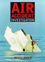 Cover of: Air accident investigation