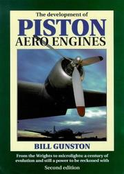 Cover of: The development of piston aero engines