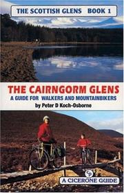 Cover of: The Cairngorm Glens