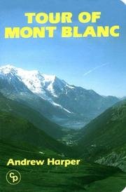 Cover of: Tour of Mont Blanc (Walking Overseas)