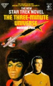 Cover of: Star Trek the Three-Minute Universe
