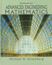 Cover of: Advanced engineering mathematics | Greenberg, Michael D.