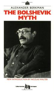 Cover of: The Bolshevik Myth