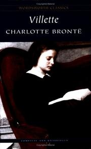 Cover of: Villette (Wordsworth Classics) (Wordsworth Collection) by Charlotte Brontë
