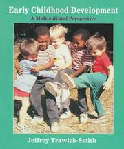 Cover of: Early Childhood Development in Multicultural Perspective