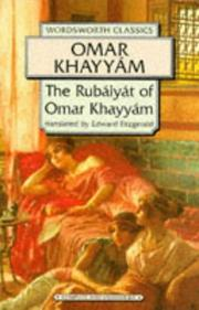 Cover of: Rubaiyat of Omar Khayyam