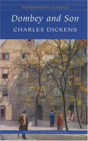 Cover of: Dombey and Son (Wordsworth Classics) (Wordsworth Classics) | Charles Dickens