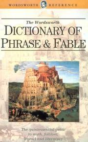 Cover of: Dictionary of Phrase and Fable