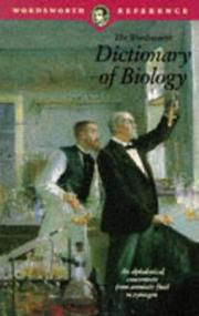 Cover of: Dictionary of Biology | Peter M. B. Walker