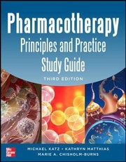 Cover of: Pharmacotherapy Principles and Practice Study Guide 3/E