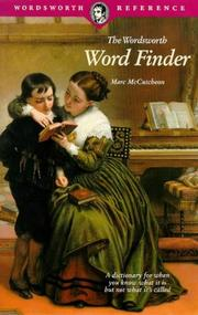 Cover of: Word Finder | T. McCutcheon