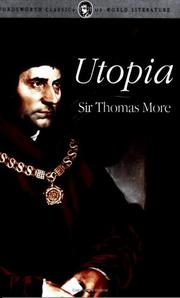 Cover of: Utopia (Classics of World Literature) (Classics of World Literature)