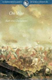Cover of: On War