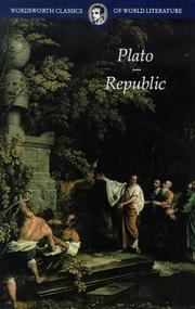 Cover of: Republic (Classics of World Literature) (Classics of World Literature) | Plato